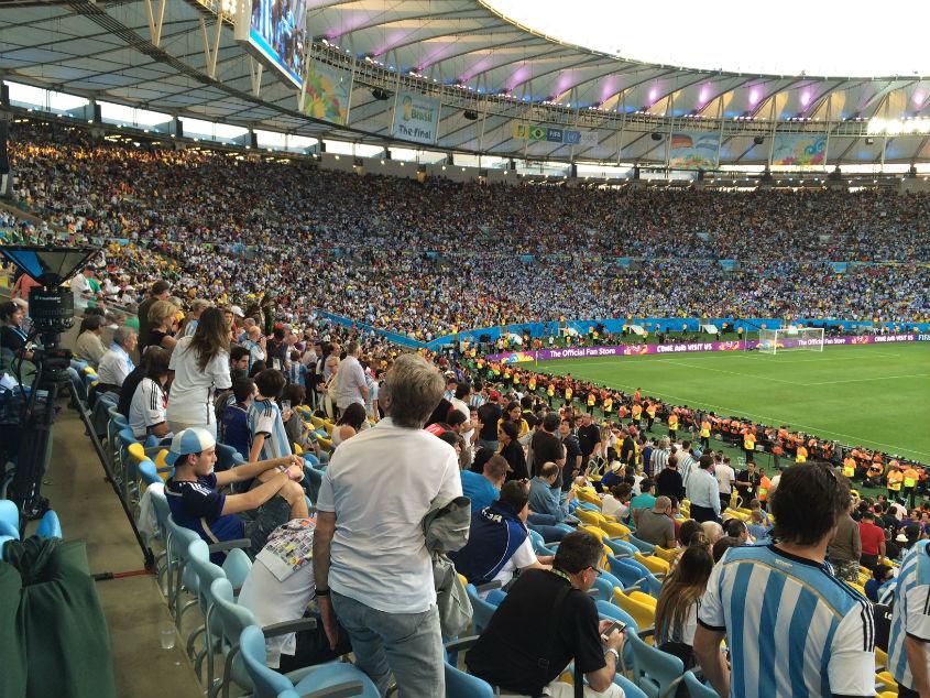 OMNICAM WM 2014 Deutschland- Argentinien