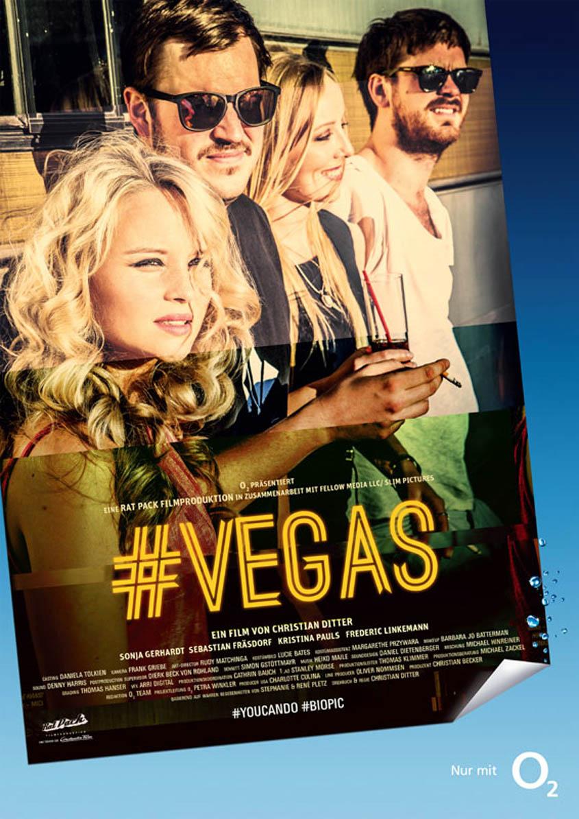 Social Biopic Vegas - Plakat