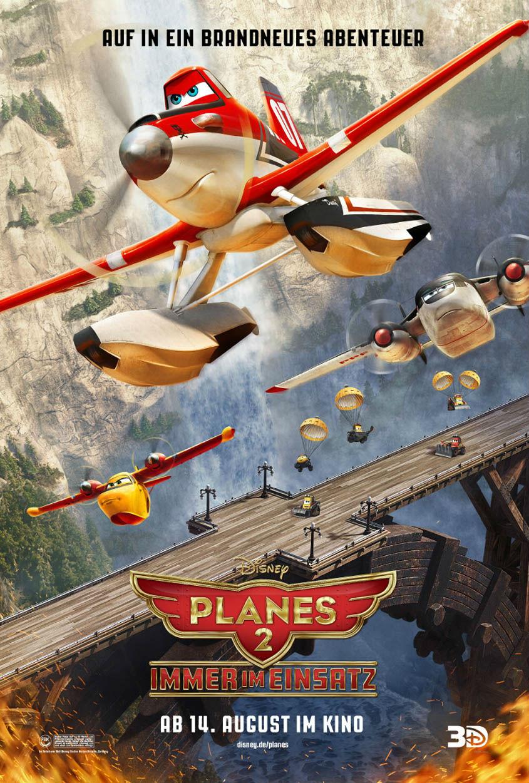 Planes 2 - Immer im Einsatz - Plakat