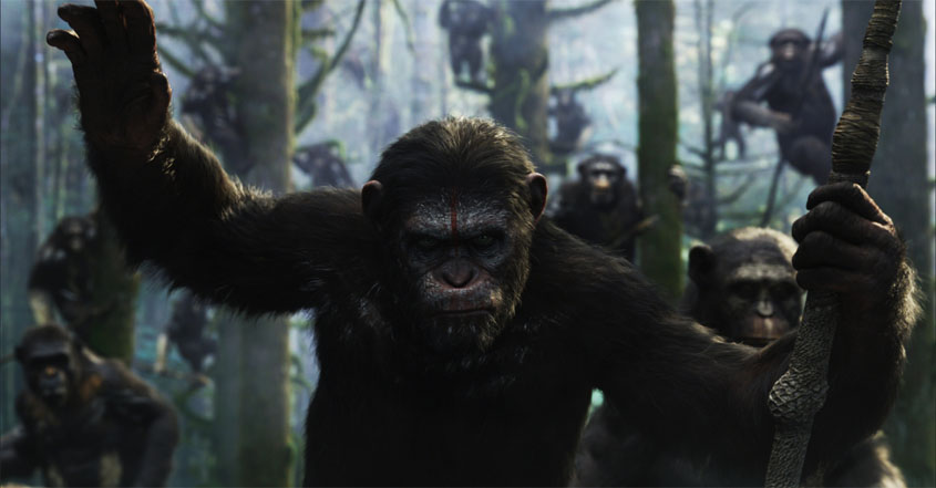 Planet der Affen 2 - Revolution - Szenenbild