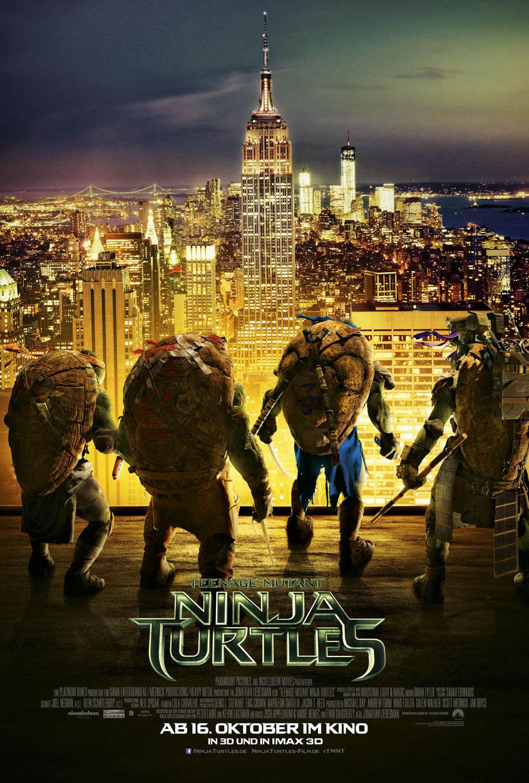 Teenage Mutant Ninja Turtles - Teaserplakat Empire State Building