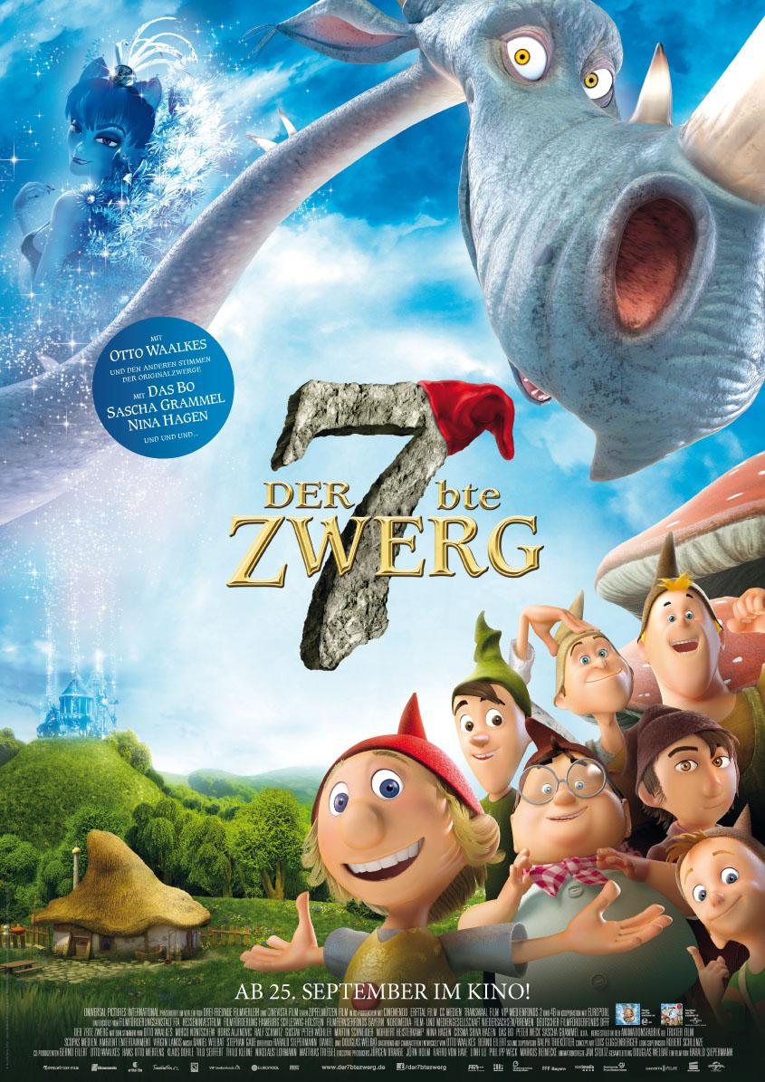 DER 7BTE ZWERG -Plakat