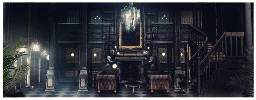 Halloween- Youtube Spaces- Große Halle