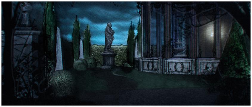 Halloween- Youtube Spaces- Haunted Garden