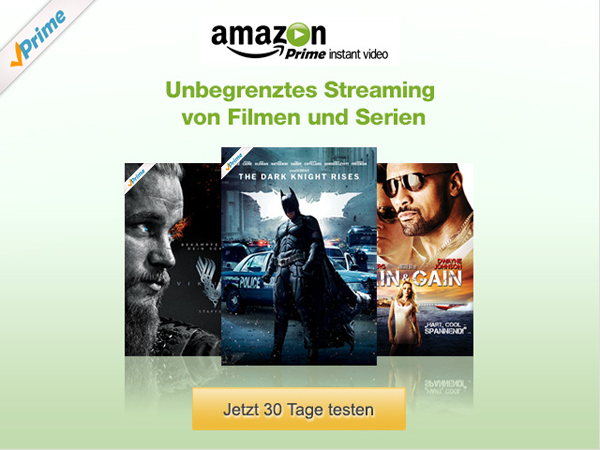 amazon prime nochmal testen