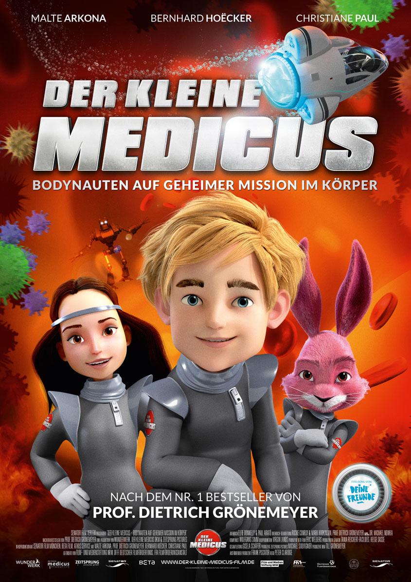Der kleine Medicus -Plakat