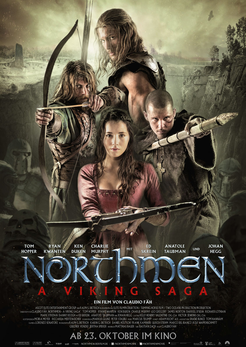 NORTHMEN- Plakat