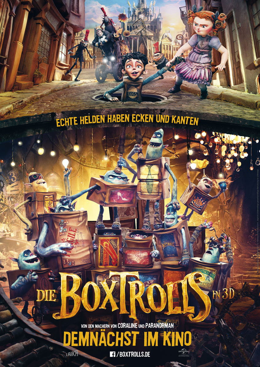 Plakat Die Boxtrolls