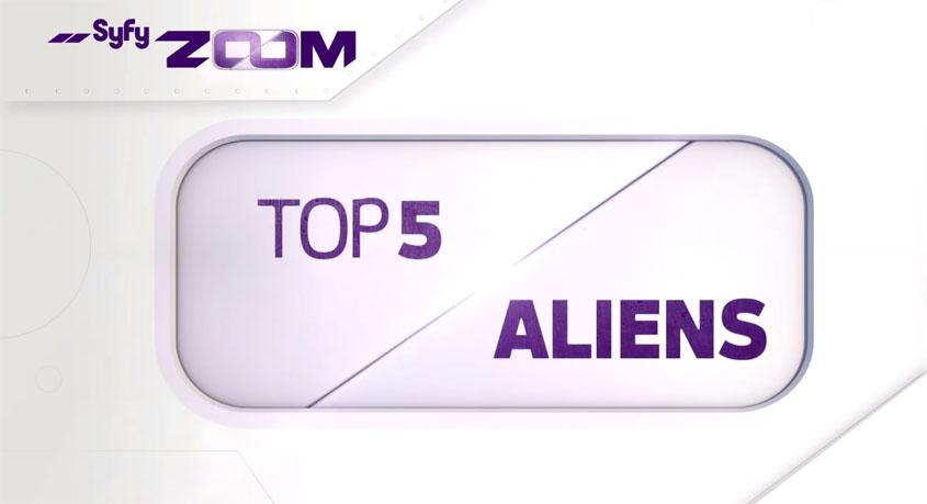Syfy Top Aliens