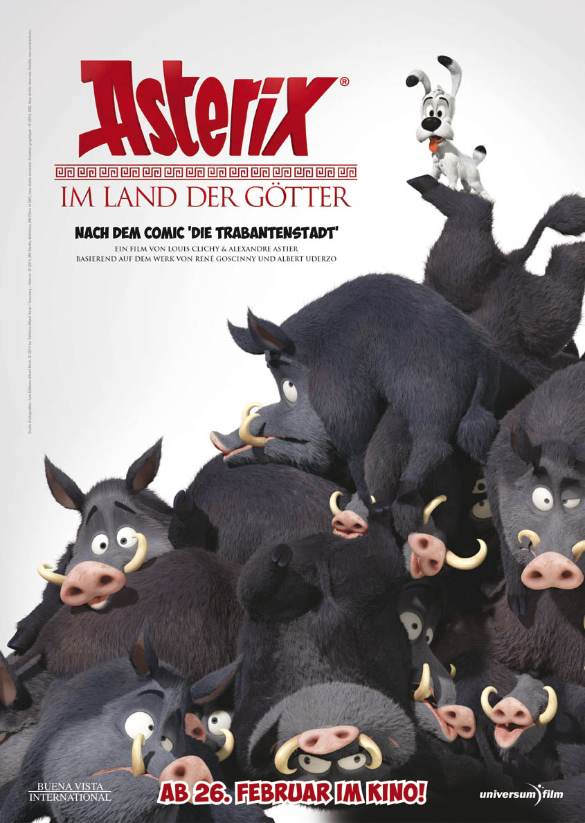 Asterix im Land der Götter - Plakat