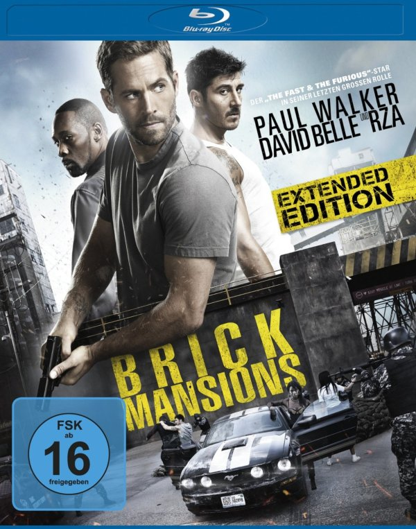 Brick Mansions Blu-ray