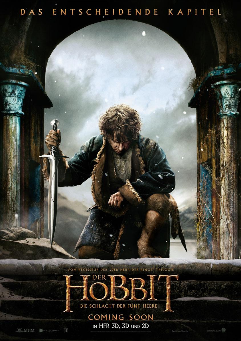 Der Hobbit - Die Schlacht der Fünf Heere- Plakat Teaser