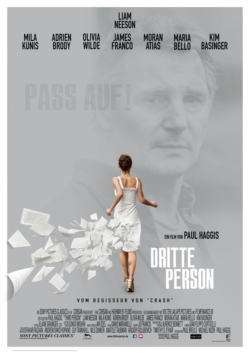 Dritte Person - Plakat