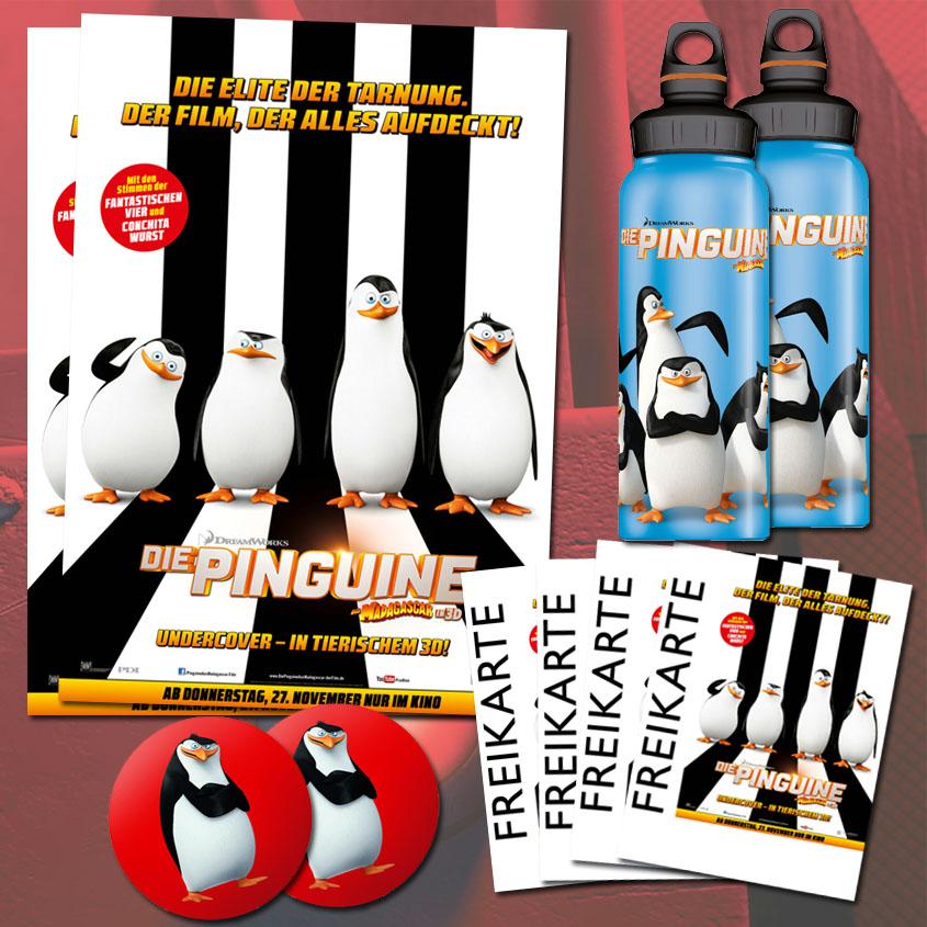 Gewinne Pinguine aus Madagascar
