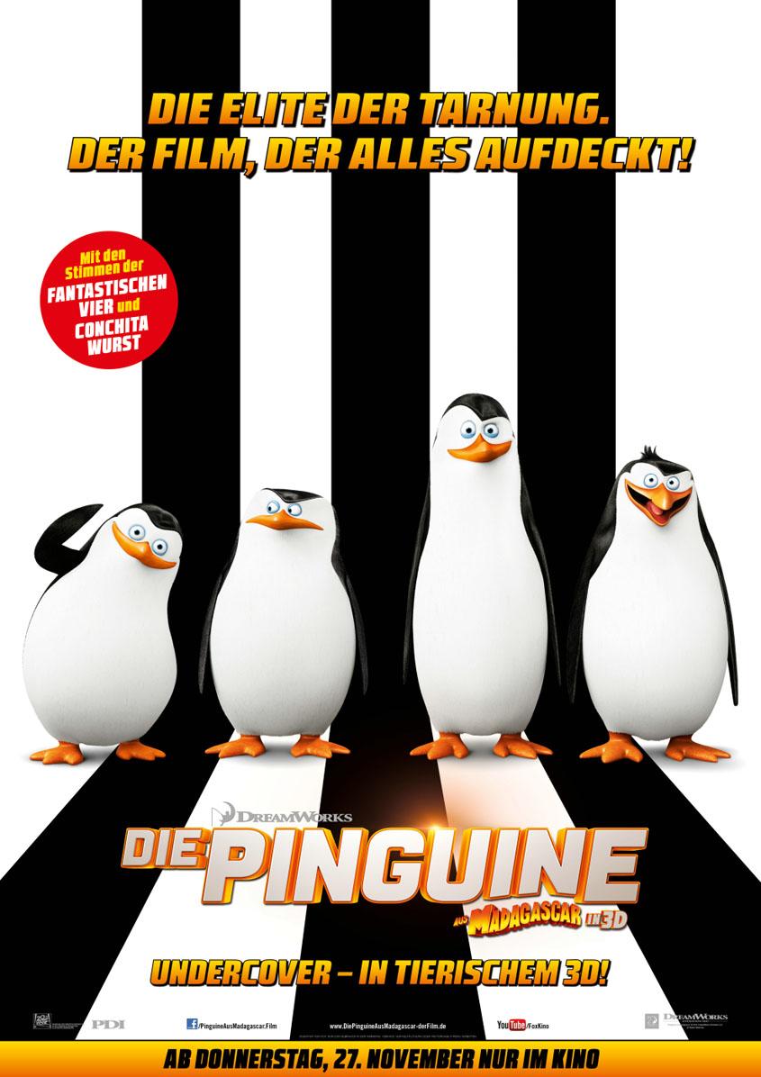 Plakat - Die Pinguine aus Madagascar