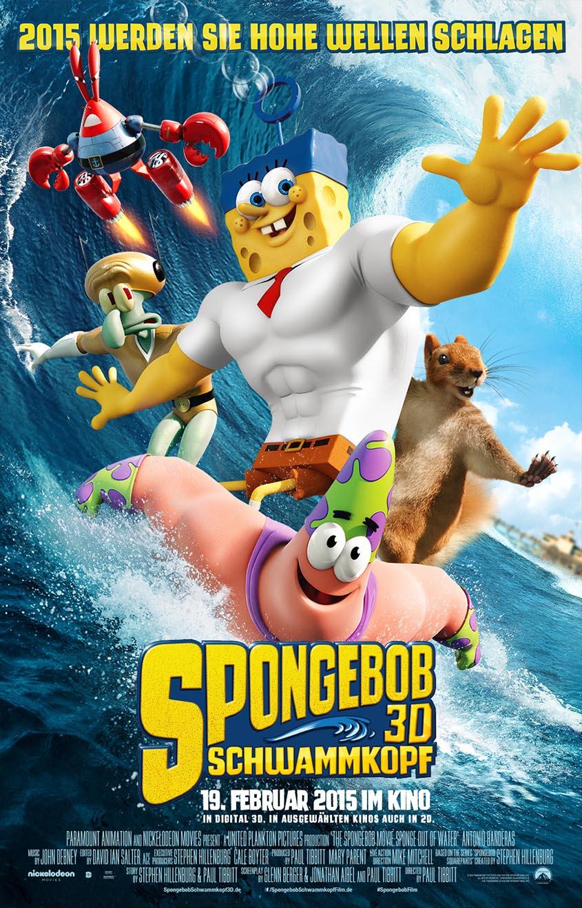 Spongebob Schwammkopf 3D- Plakat