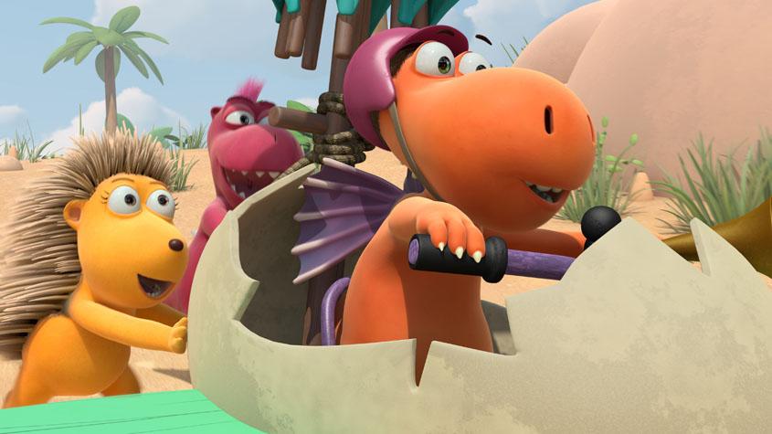 Der kleine Drache Kokosnuss - Szenenbild 1
