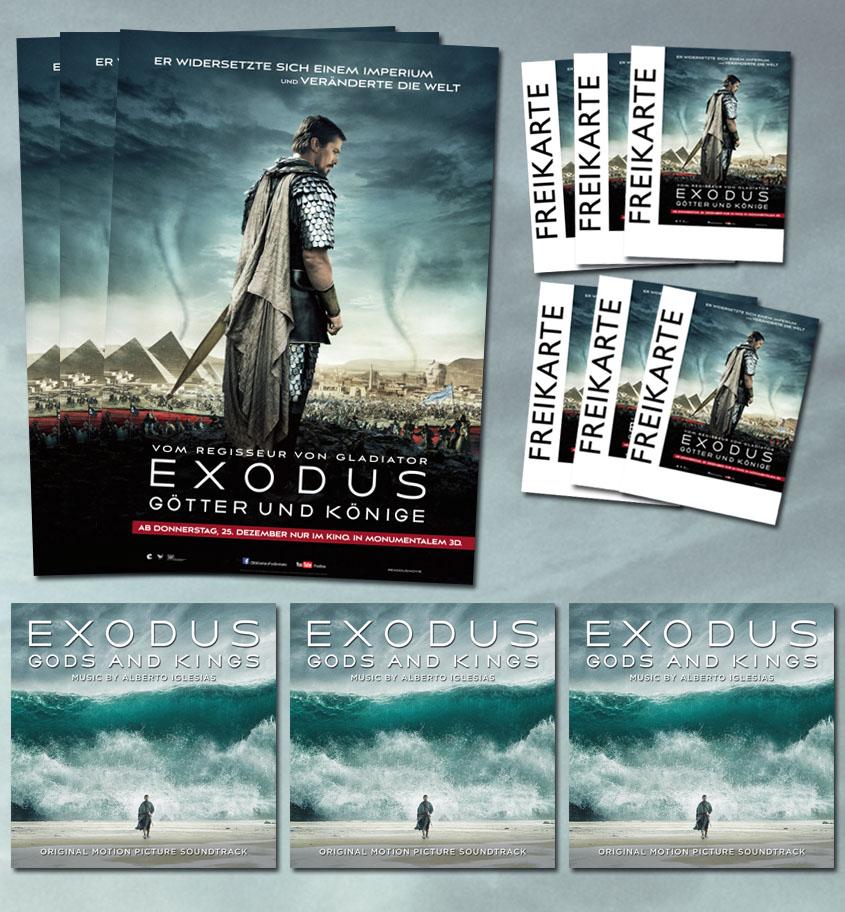Exodus - Gewinne Fanpaket