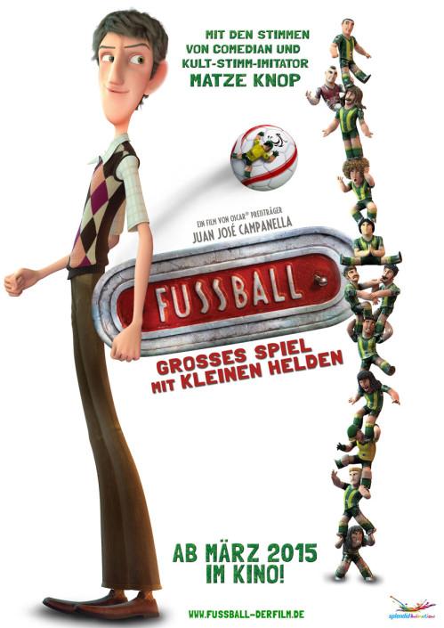 Fussball - Grosses Spiel mit kleinen Helden - Plakat