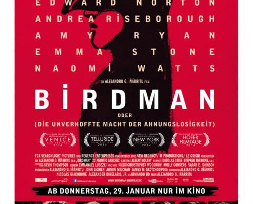 Birdman - Poster