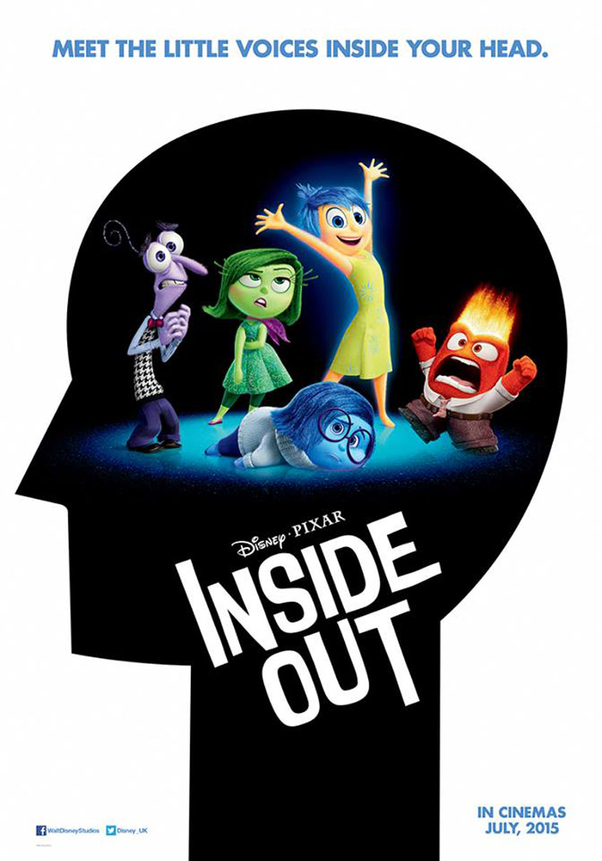 Inside Out -Teaser - Plakat