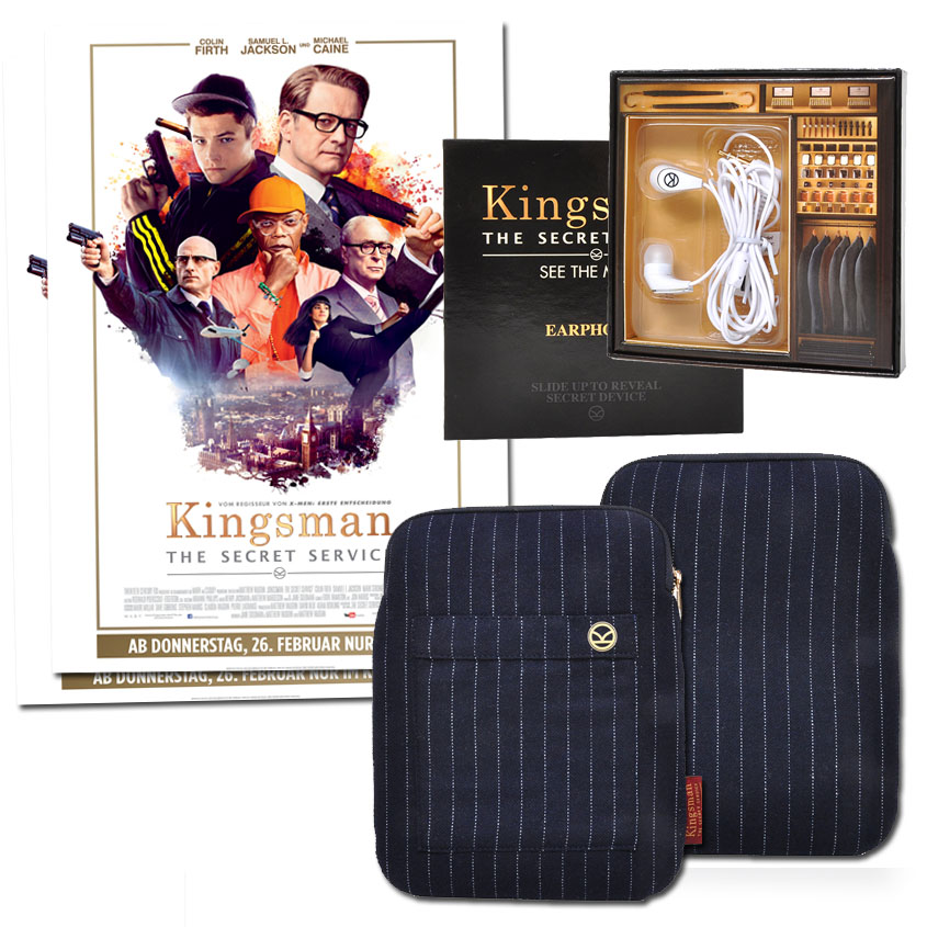Gewinne Kingsman - The Secret Service