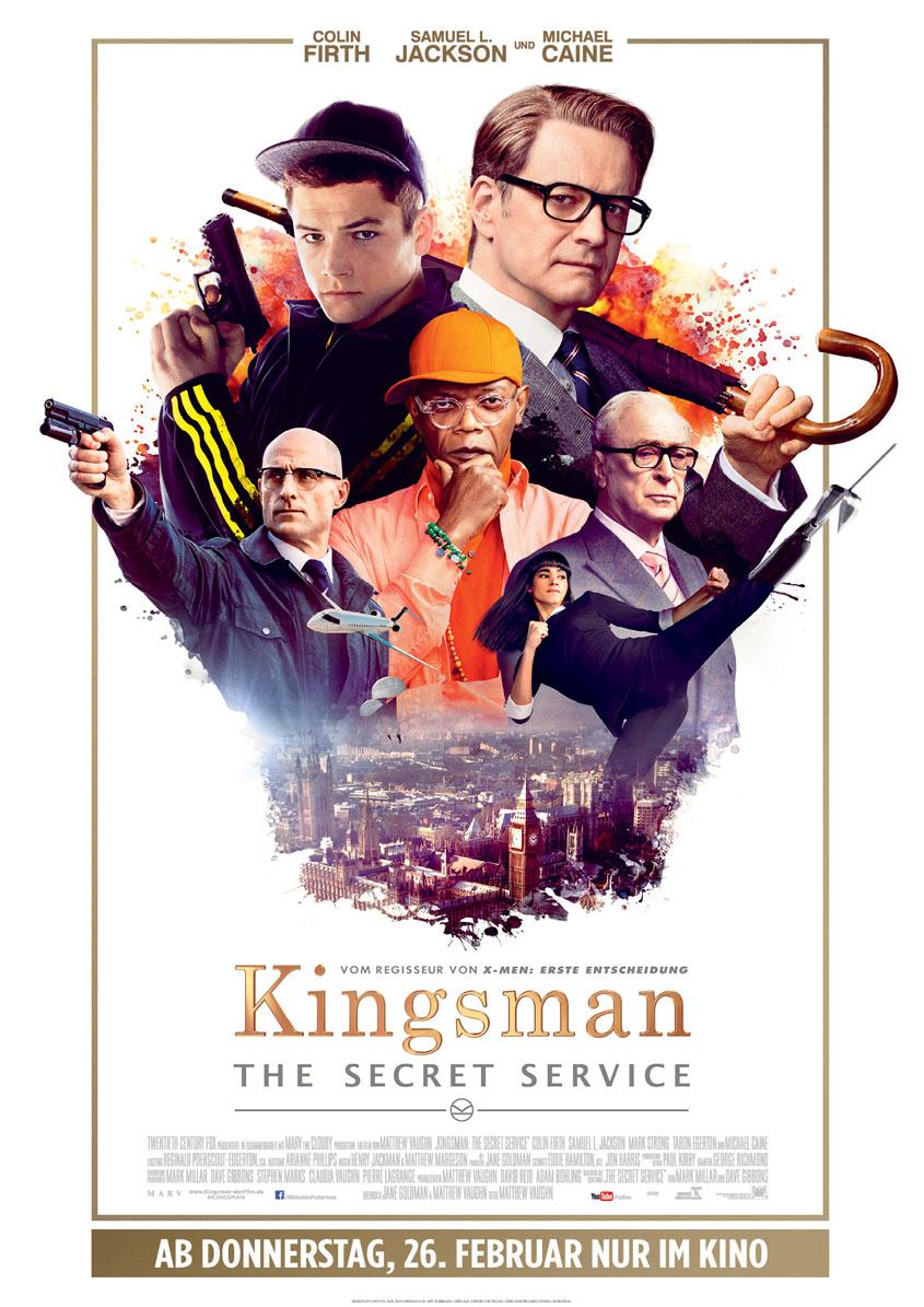 Kingsman - The Secret Service - HAUPTPLAKAT