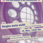 KinoPassion - 20150318 - Thema Demenz