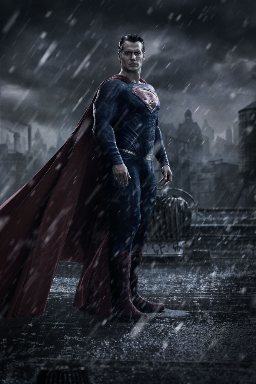 Batman vs Superman - Plakat Superman