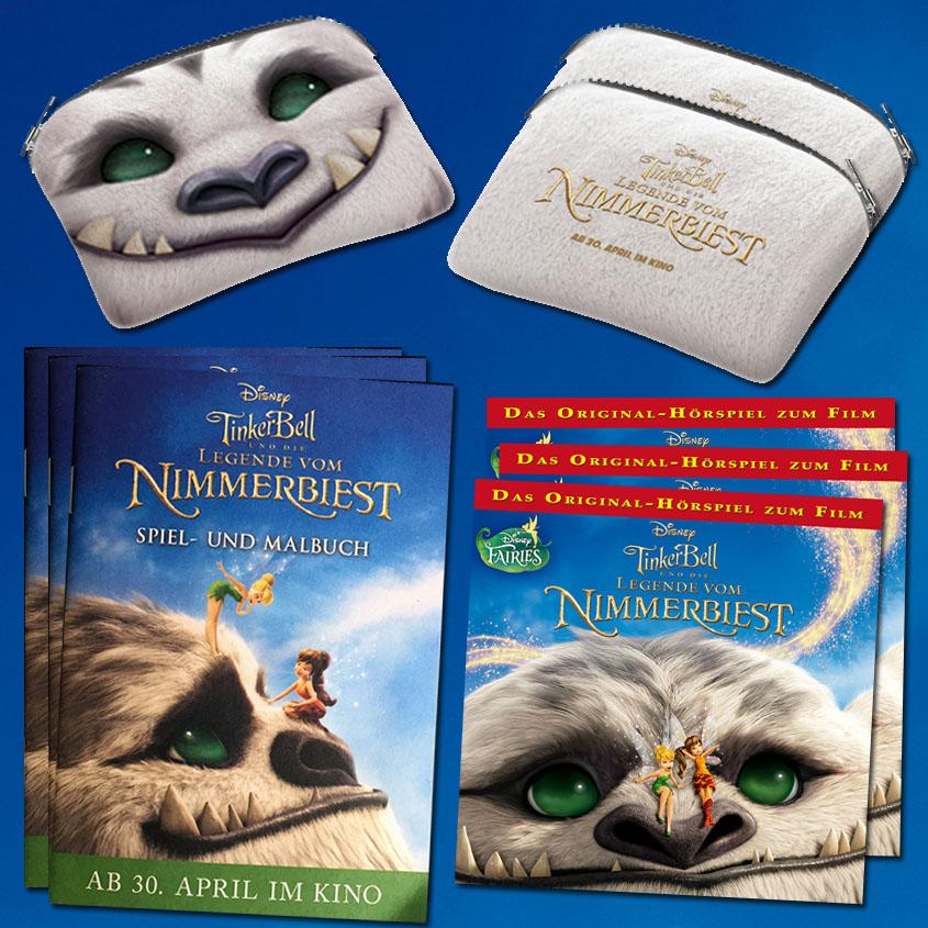 Gewinne Tinkerbell  Nimmerbiest