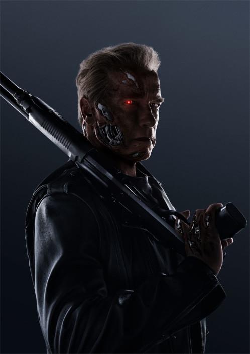 Terminator Genisys -Plakat