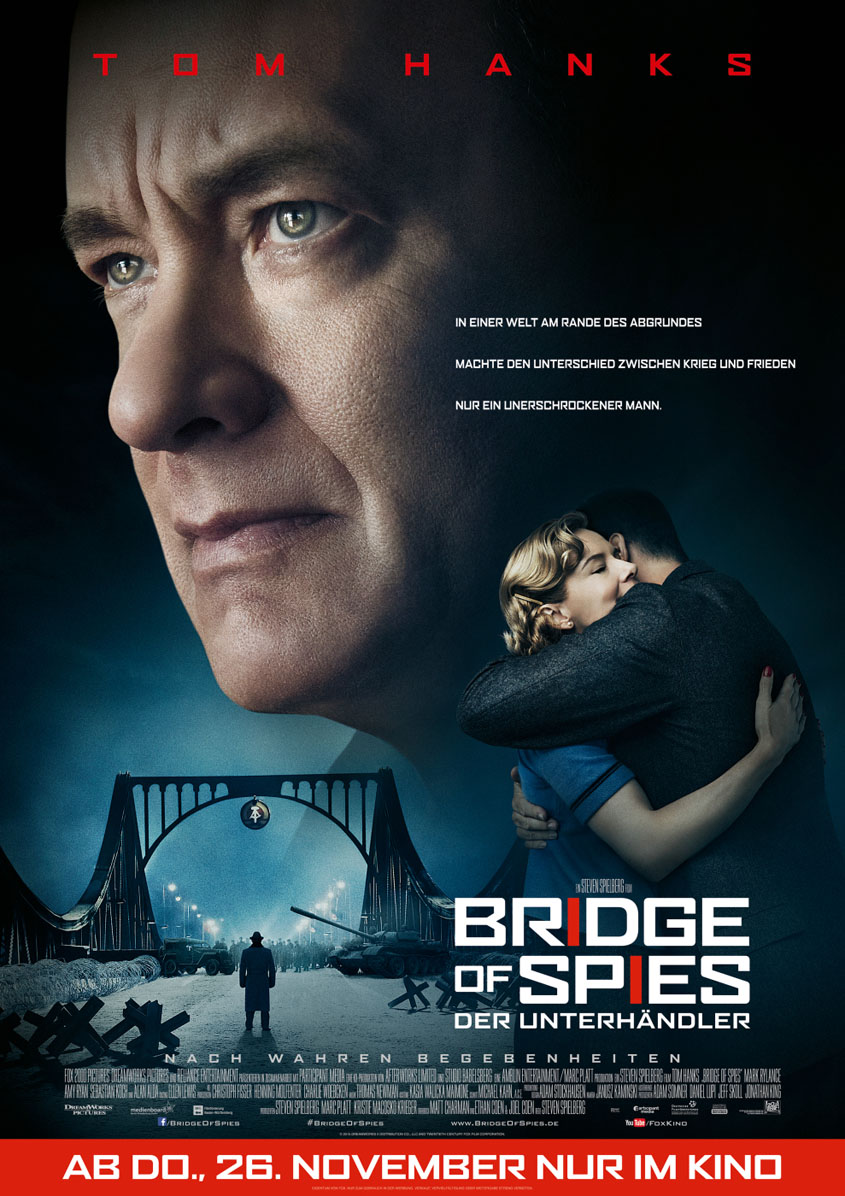 Bridge of Spies - Internationale Premiere Berlin - Plakat