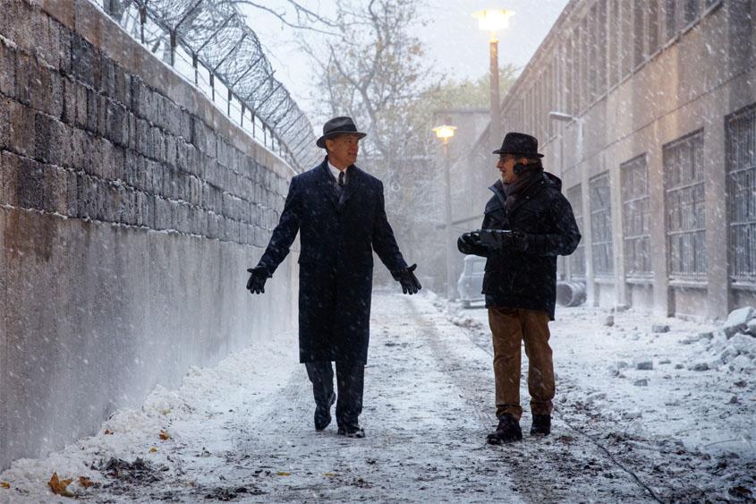 Bridge of Spies - Der Unterhändler -Tom Hanks Steven Spielberg