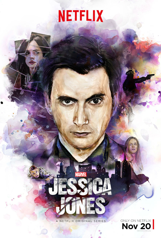 Jessica Jones - Plakat Kilgrave