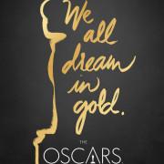 Academy Awards - Oscars 2016 -Plakat