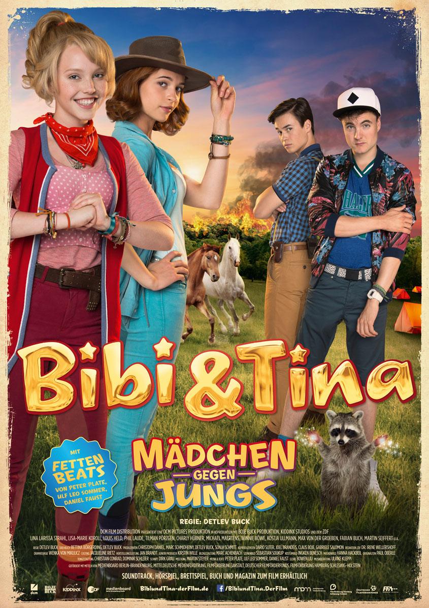 Bibi und Tina - Mädchen gegen Jungs - Plakat