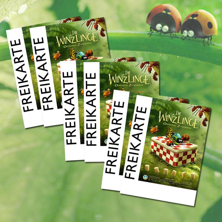 Freikarten- Die Winzlinge