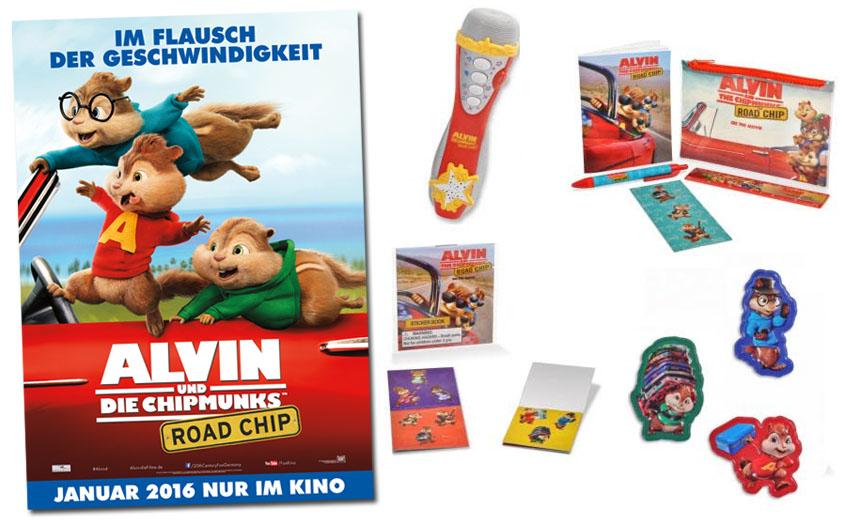 Gewinne Alvin und die Chipmunks 4
