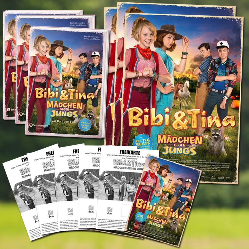 Gewinne Verlosung Bibi und Tina 3