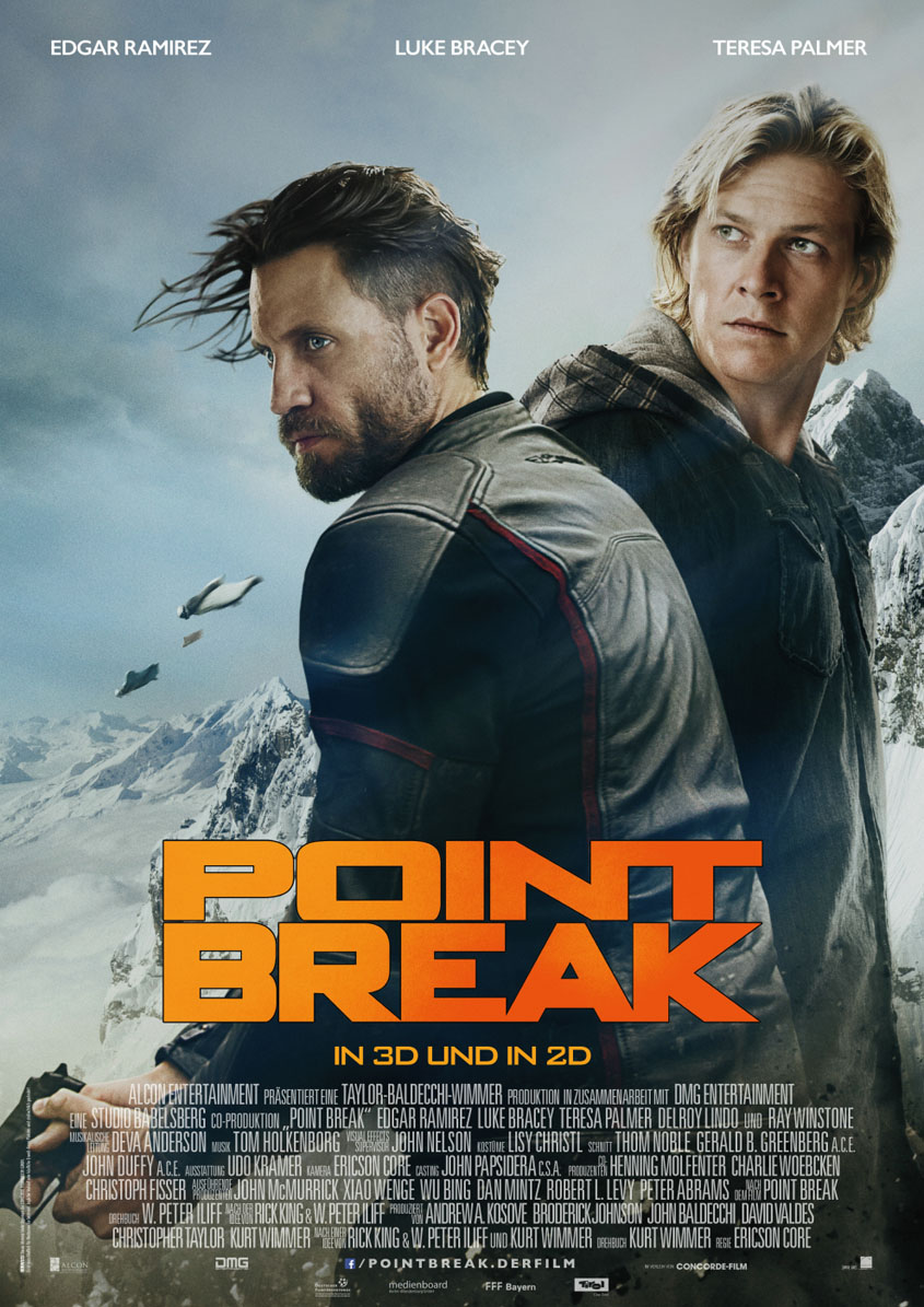 Point Break - Plakat