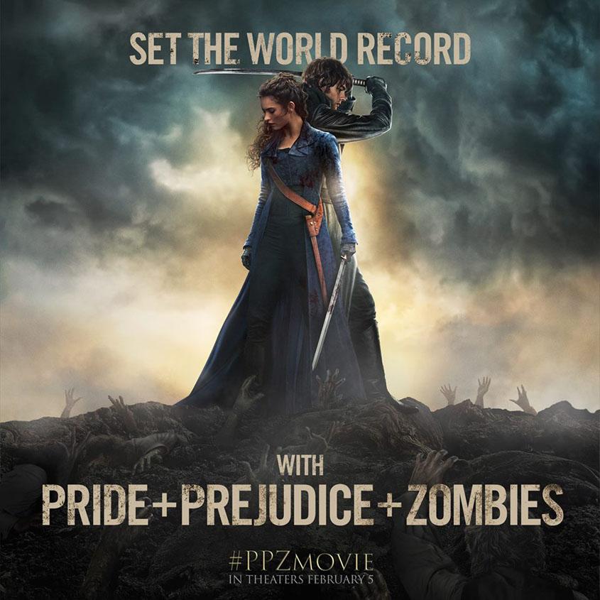 Pride Pejudice Zombies -Weltrekord