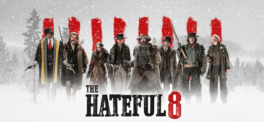 The Hateful 8 - Banner