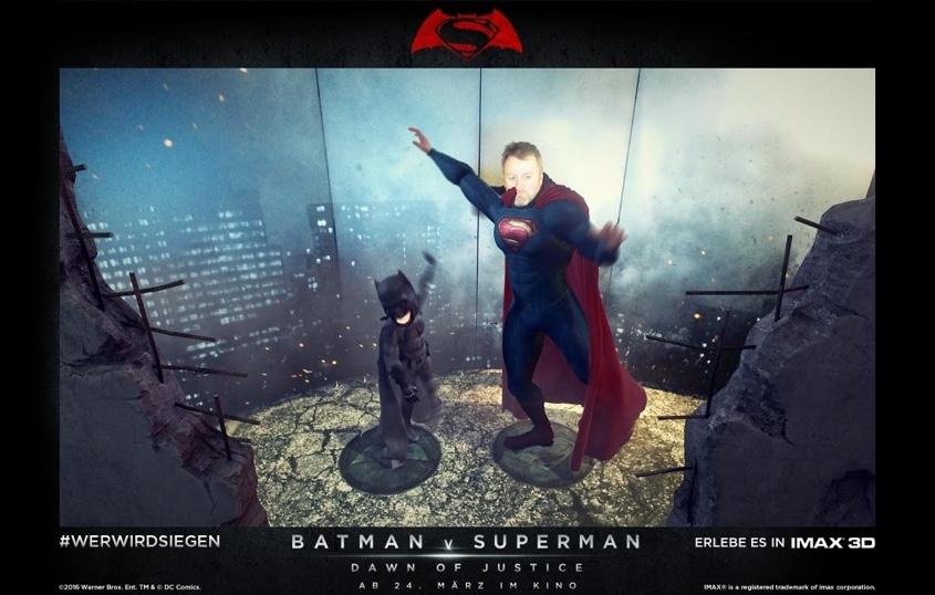 Batman vs Superman - Augmented Reality