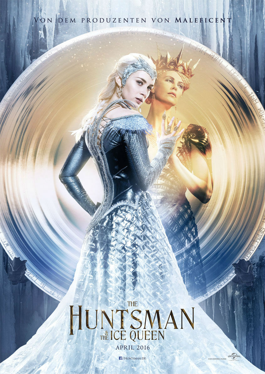 THE HUNTSMAN AND THE ICE QUEEN - Plakat