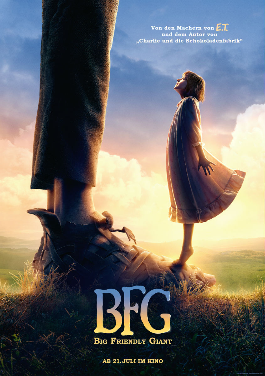 BFG Big Friendly Giant - Teaserplakat