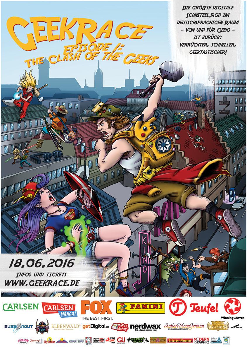 GeekRace 2016- Plakat