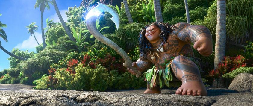 VAIANA - Halbgott Maui
