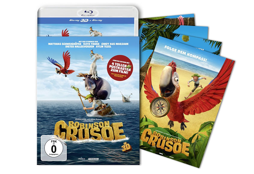 Robinson Crusoe Blu-ray 3D Limited Edition