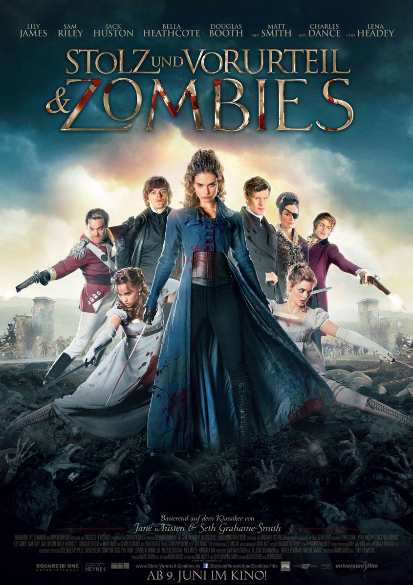 Stolz und Vorurteil und Zombies- Hauptplakat