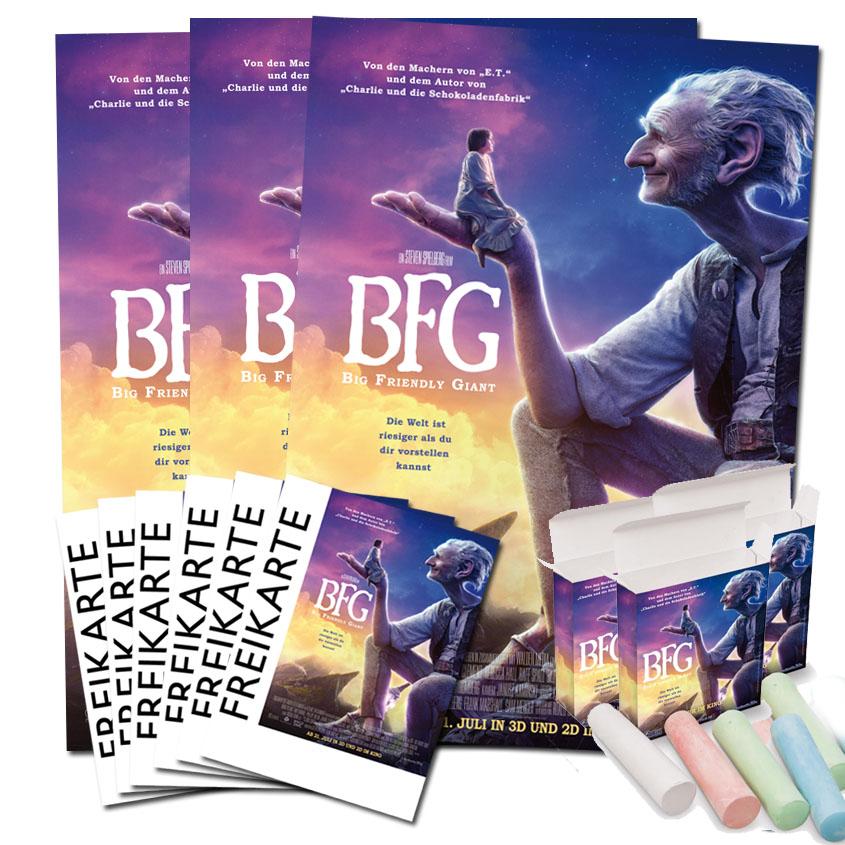 Gewinne BFG - Big Friendly Giant
